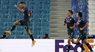 Il lampo di Politano sblocca il Napoli, Gattuso sorride anche in Europa