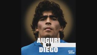 """Giordano: """"Diego, sei stato sempre speciale"""""""