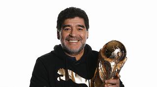 """Maradona ringrazia per gli auguri: """"Mi danno la vita"""""""