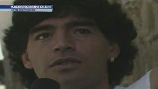Maradona compie 60 anni