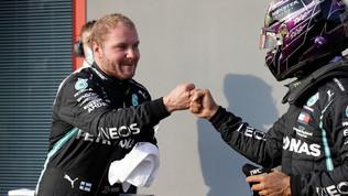 "Bottas: ""Pole fantastica"". Hamilton: ""Qualifica schifosa, gara noiosa"""