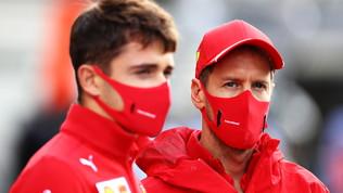 """Leclerc: """"Darò il massimo"""". Vettel scherza: """"Se si ritirano tutti..."""""""