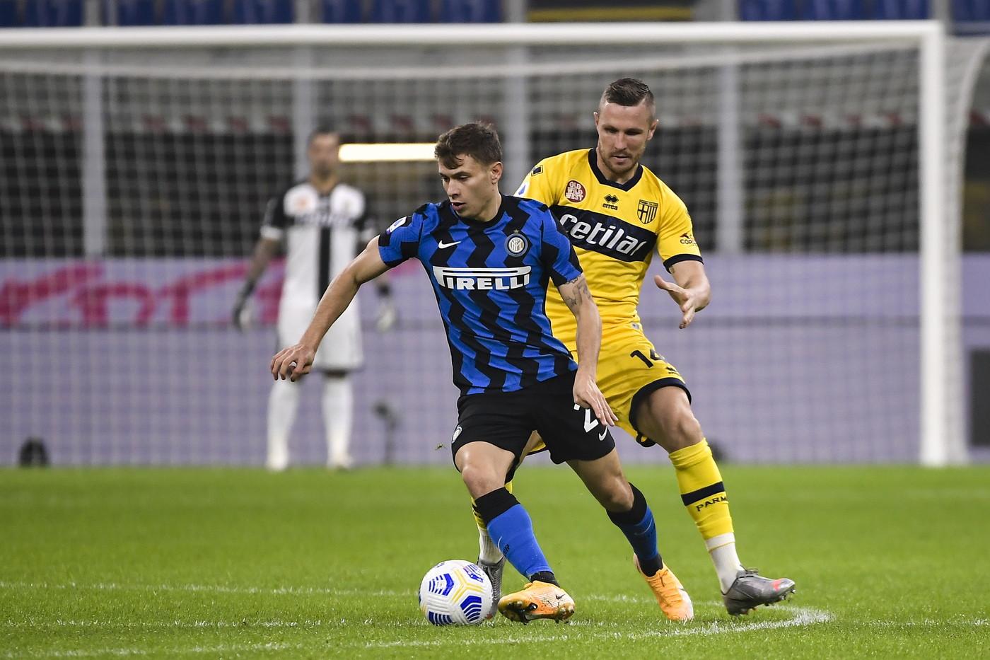 Le immagini della sfida di San Siro tra l&#39;Inter di Conte e il Parma di Liverani<br /><br />