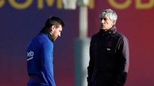 """Setien non dimentica: """"Messi ha un carattere difficile da gestire"""""""