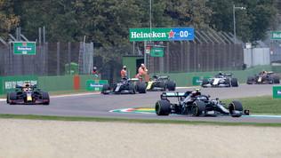 Hamilton-Bottas, a Imola è titolo per Mercedes