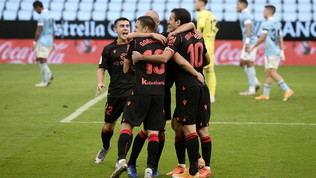 La Real Sociedad ne fa quattro a Vigo e rivede la vetta della Liga