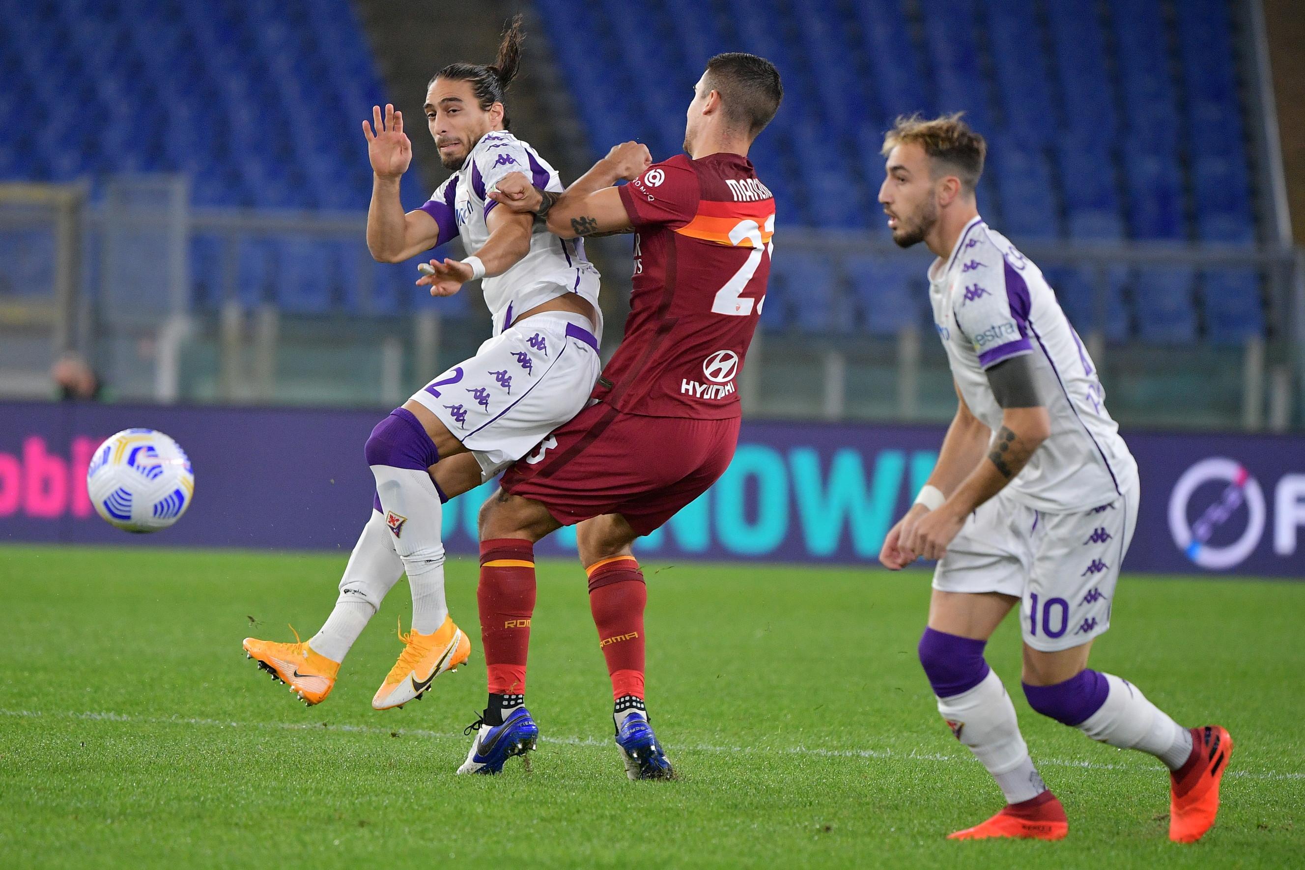 I migliori scatti di Roma-Fiorentina 2-0<br /><br />