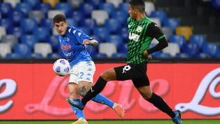 Napoli-Sassuolo, le immagini del match