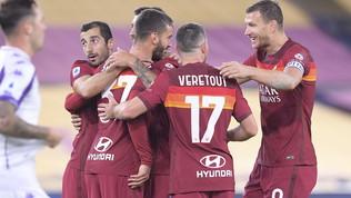 La Roma fa viola la Fiorentina: Fonseca gode con Spinazzola e Pedro