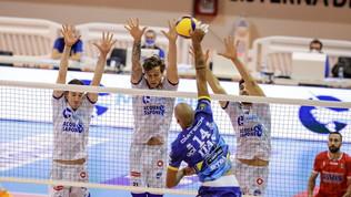 Civitanova regola Modena, Trento torna al successo