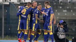Il Verona ritrova il successo, per il Benevento terzo ko di fila