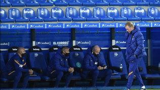 """Koeman: """"Critiche a Messi? E' unvincente,il migliore. Ora continuità"""""""