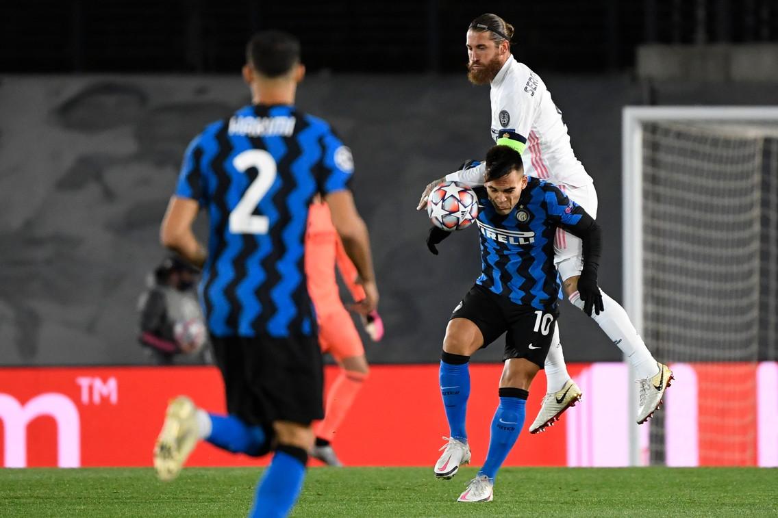 Real Madrid-Inter, le migliori immagini.<br /><br />