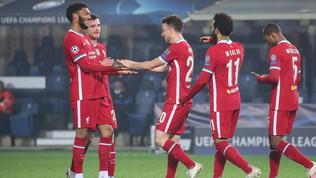 Liverpool forza cinque, super Jota: Atalanta spazzata via