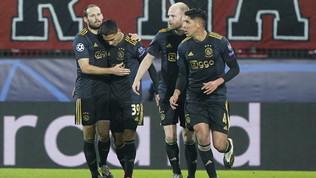 M'Gladbach travolgente, ok Ajax, Bayern e City. Pari Atletico