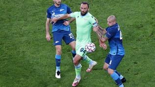 Zampata di Caicedo, Lazio indenne con lo Zenit