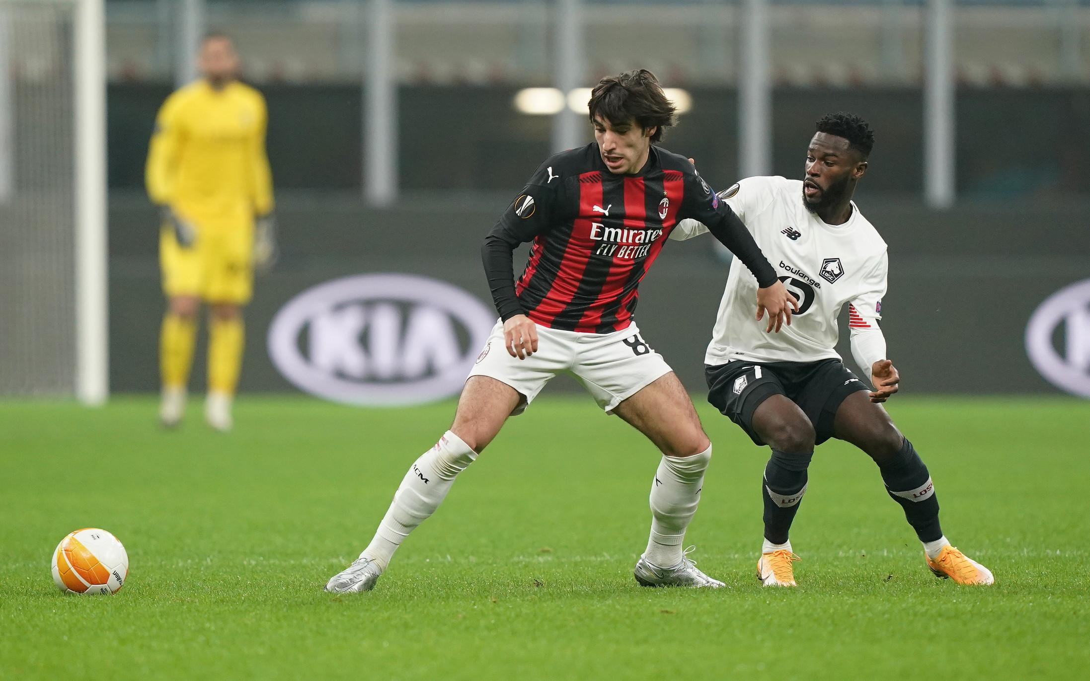 Milan-Lille 0-3, le migliori foto.<br /><br />