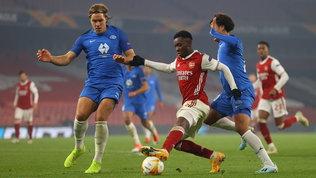 Poker di Arsenal e Leicester, vincono bene Sparta Praga e Young Boys