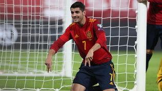 Morata, è un momento d'oro: dopo la Juve riconquista anche la Nazionale