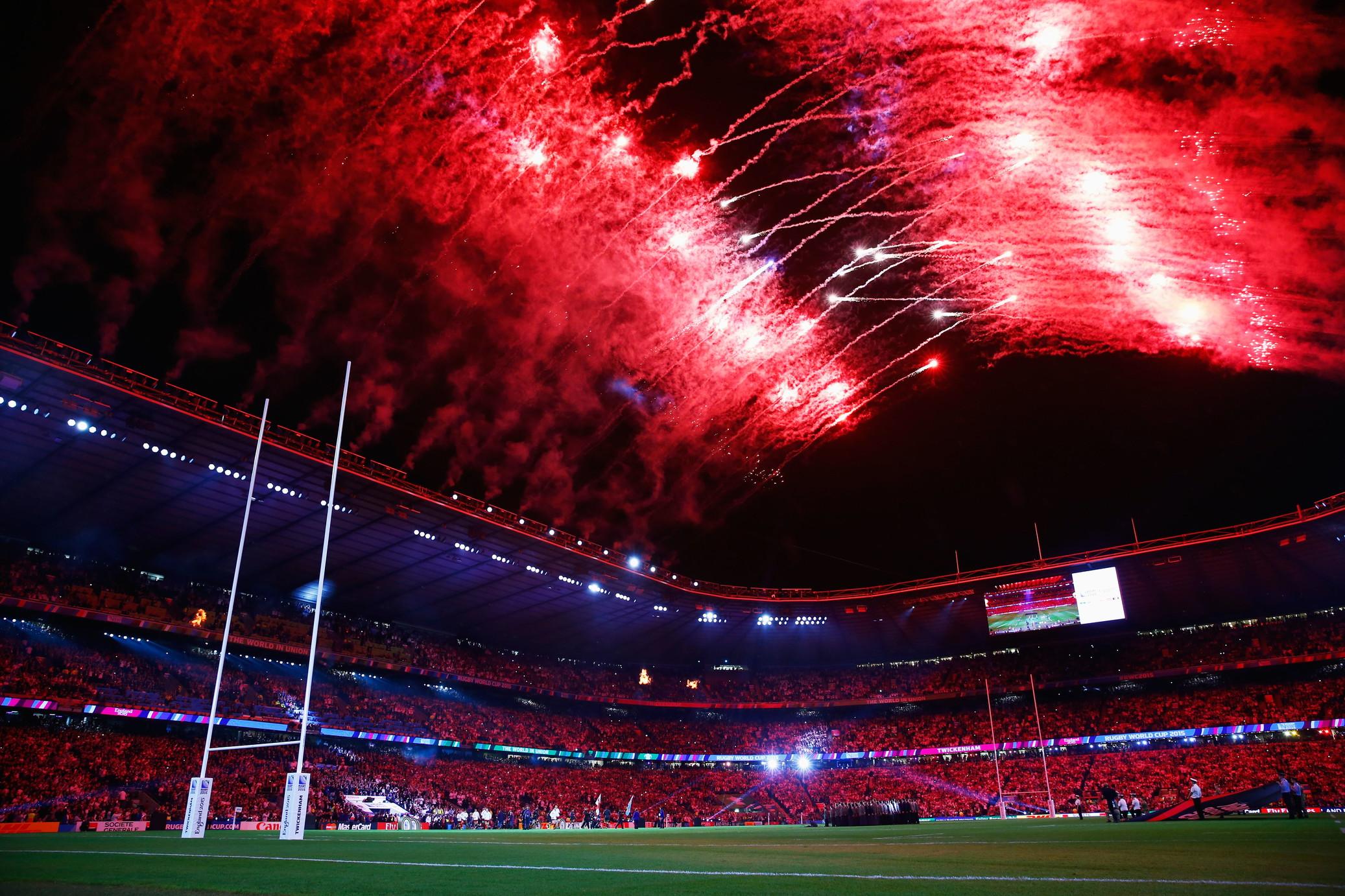 Twickenham, il tempio del rugby inglese e non solo.
