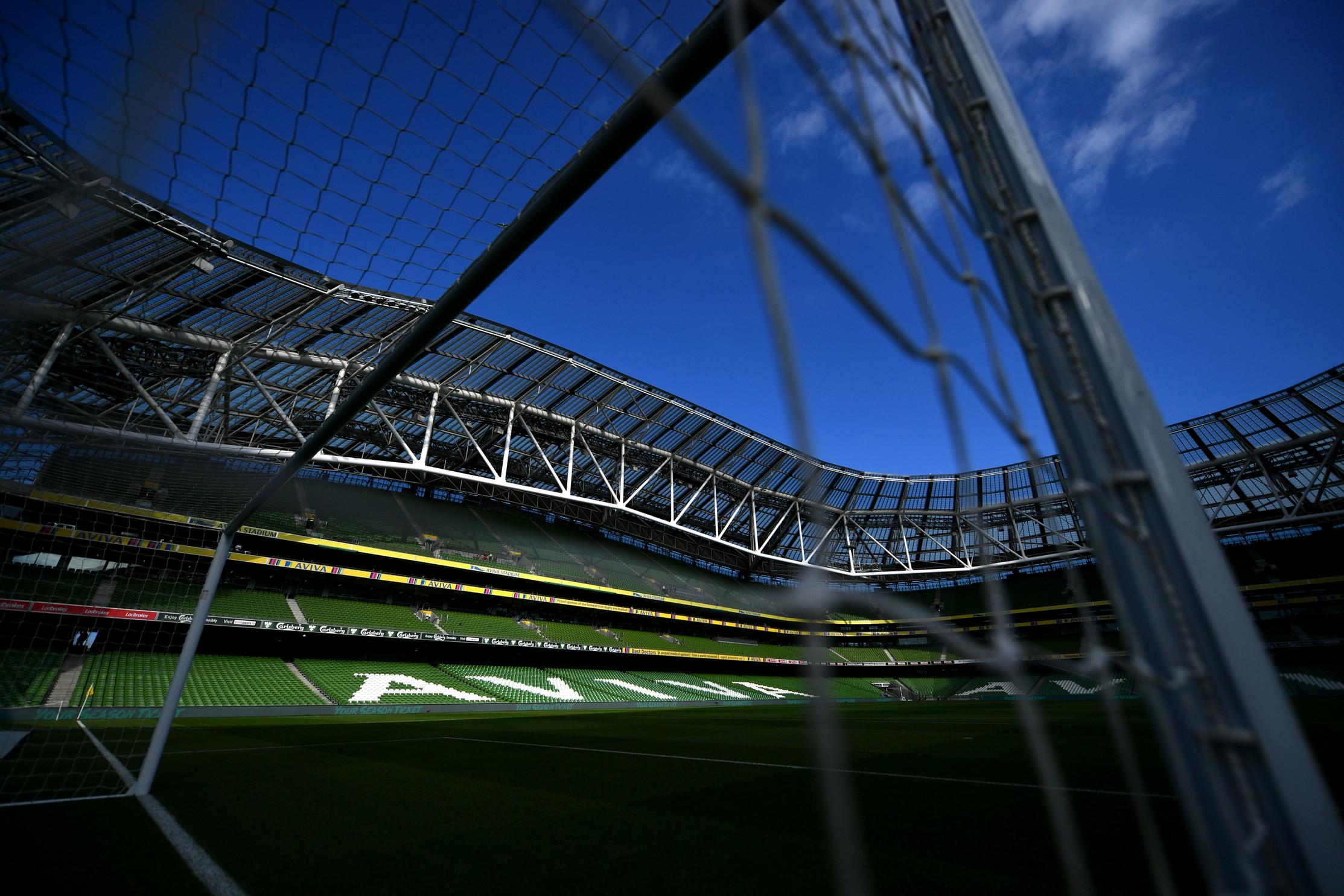 L'Aviva Stadium di Dublino.