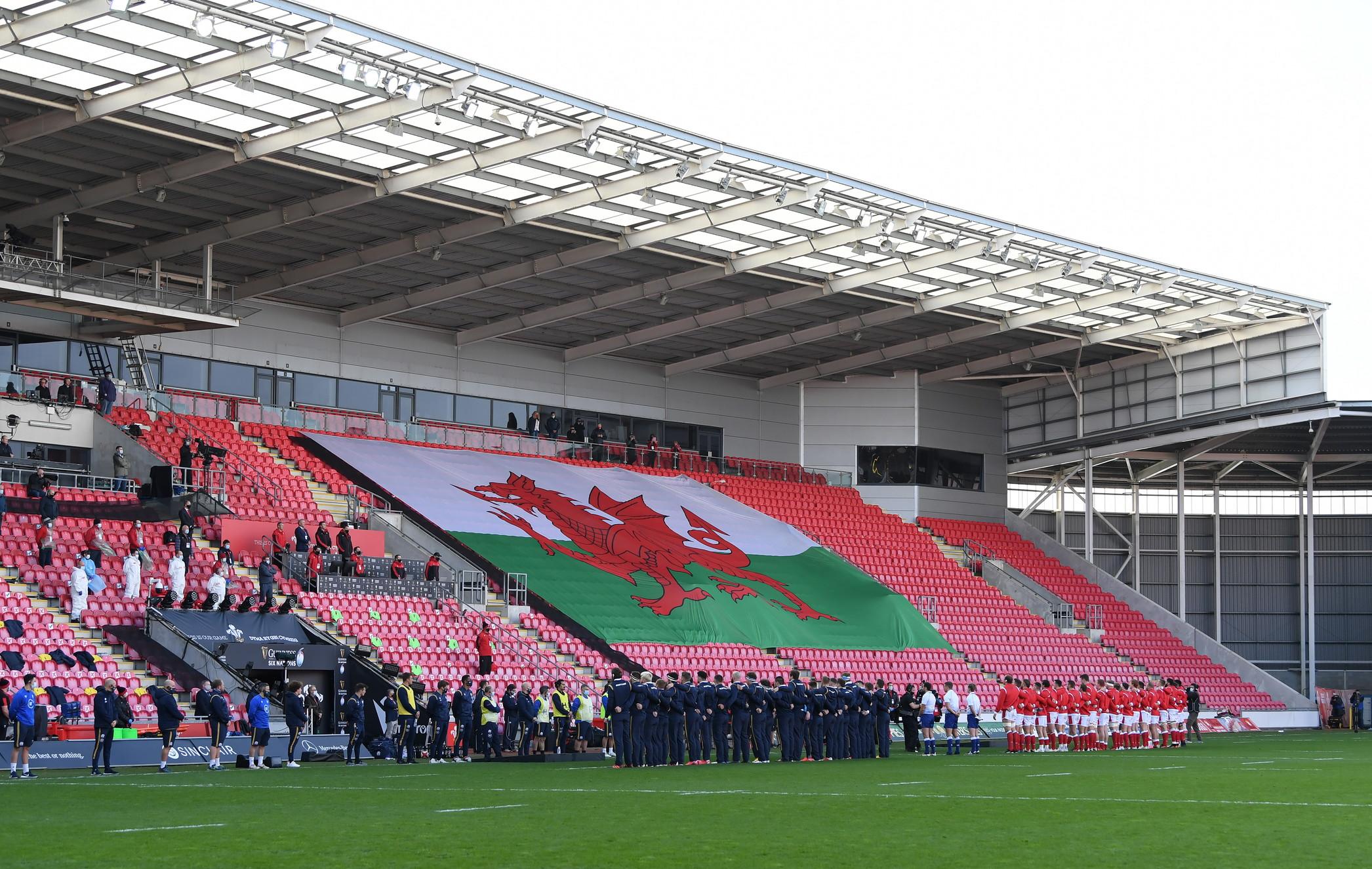 IlParc y Scarlets di Llanelli, casa del Galles.