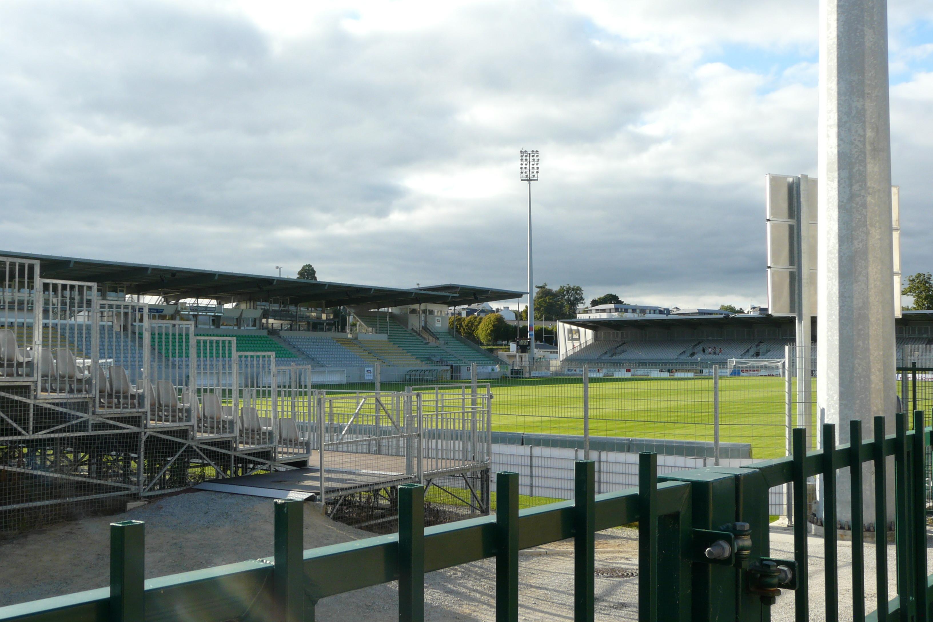 Lo Stade de la Rabine a Vannes, in Francia.