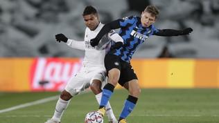 Real Madrid: Casemiro e Hazard positivi al Covid, erano titolari contro l'Inter