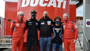 Marini e Bastianini in MotoGP, fatta con Esponsorama