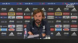 """L'ottimismo di Pirlo: """"Con la Lazio partita difficile ma stiamo migliorando"""""""