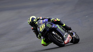 """Rossi: """"Covid sfida dura"""". Morbidelli: """"Rimonterò in gara"""""""