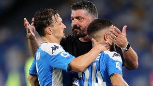 """Gattuso manda Mario Rui e Ghoulam in tribuna: """"Non li ha visti sul pezzo"""""""