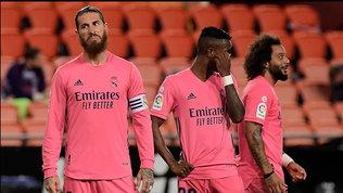Il Real Madrid affonda, Real Sociedadda sola in vetta