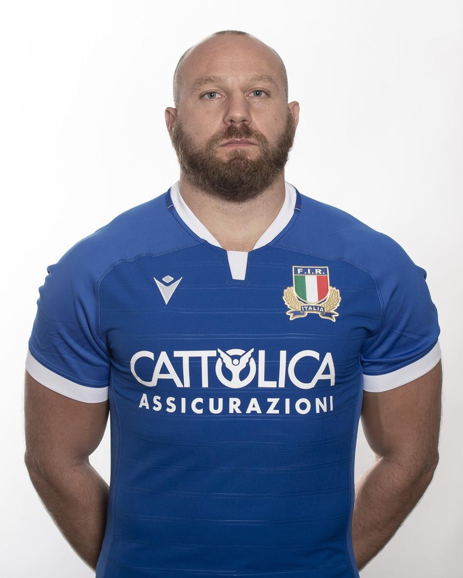 Leonardo Ghiraldini (Padova, 26 dicembre 1984). Svincolato, 104 caps con l'Italia.