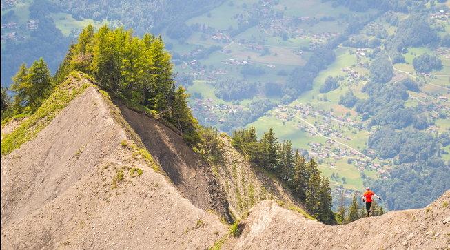 Doppio chilometro verticale: giù dalla montagna... più veloci di Bolt!