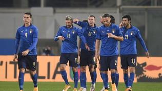 Doppio Grifo, Bernardeschi eOrsolini: l'Italia cala il poker