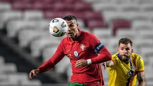 Portogallo, Cristiano Ronaldoa quota 746 gol come Puskas