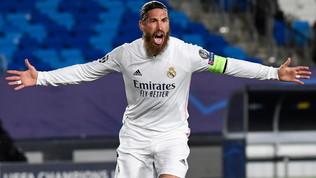 """Dalla Spagna l'indiscrezione: """"Sergio Ramos all'80%via dal Real"""""""