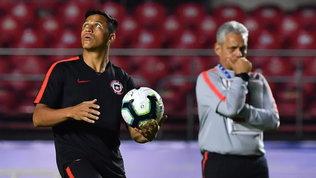 """Allenatore Inter-Cile: """"Sulle dichiarazioni inaccettabili e offensive di Sanchez"""""""