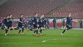Serbia fuoriai rigori con la Scozia,Macedonia nella storia con Pandev | Ok Ungheria e Slovacchia