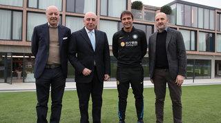 """Galliani, prima visita ad Appiano e asse con Marotta: """"Servono aiuti"""""""
