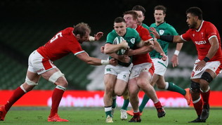 La prima dell'ANC va all'Irlanda: Galles battuto 32-9