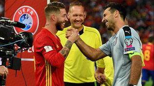 Sergio Ramos nella storia della Spagna: superato Gigi Buffon