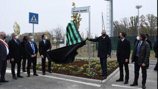 Sassuolo, inaugurata via Giorgio Squinzi al Mapei Football Center