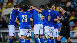 Scamacca trascina gli Azzurrini agli Europei, Lussemburgo liquidato 4-0