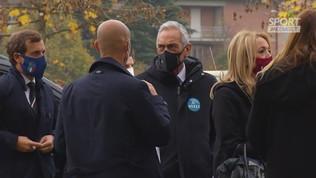 """Gravina: """"Sul rinnovo aspetto la risposta di Mancini"""""""
