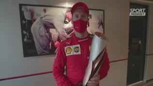 """Vettel: """"Grazie tifosi, contenti del podio"""""""