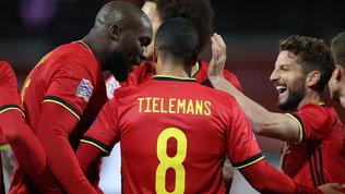 Mertens-gol, il Belgiobatte l'Inghilterra.Danimarca ok conEriksen
