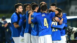 Under 21, Italia-Svezia 4-1: gli azzurrini chiudono con una vittoria