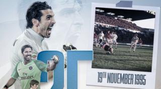 """Buffon a 25 anni dal suo esordio in Serie A: """"E non è ancora finito ..."""""""